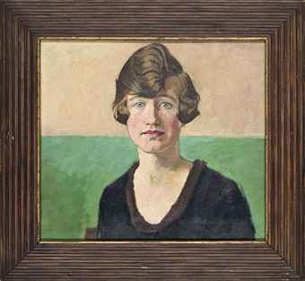 William Rothenstein Sir William Rothenstein 18721945 Portrait of a young