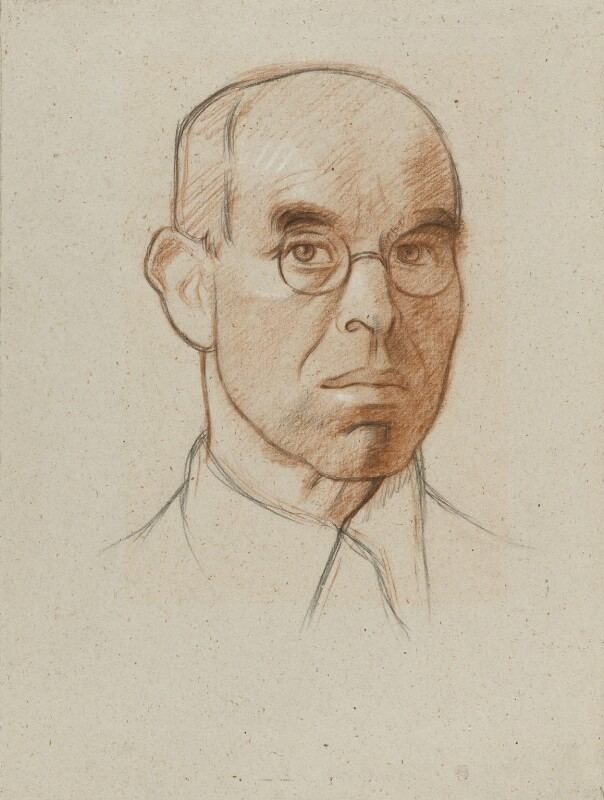 William Rothenstein NPG 3880 Sir William Rothenstein Portrait National