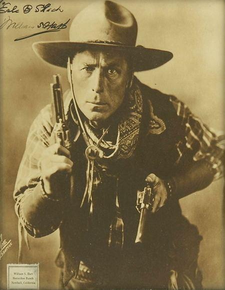 William S. Hart Civil War Horror William S Hart the first Western film star