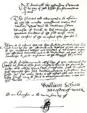 William Schaw Schaw William GLF Rite cossais primitif