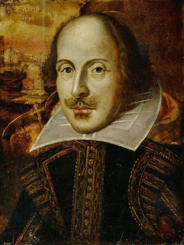 William Shakespeare Droeshout portrait Wikipedia the free encyclopedia
