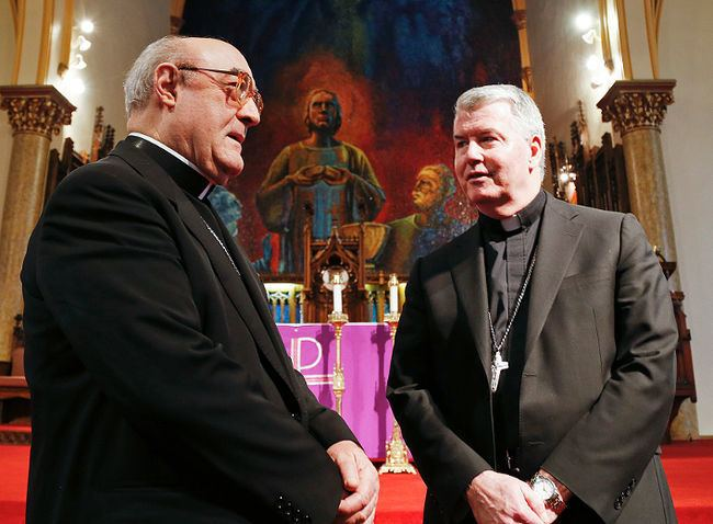 William McGrattan Catholic diocese welcomes new bishop Northumberland Today