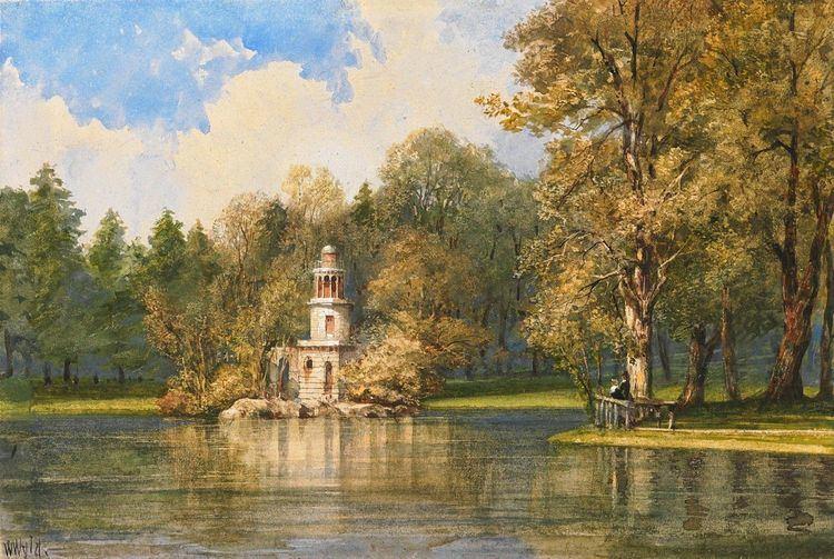 William Wyld William Wyld The Garden at Versailles Art 19th century British