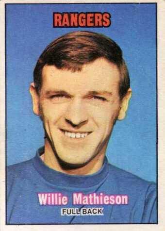 Willie Mathieson Willie mathieson Rangers till I die Pinterest