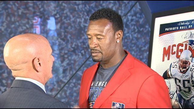 Willie McGinest Former New England Patriot Willie McGinest to be inducted