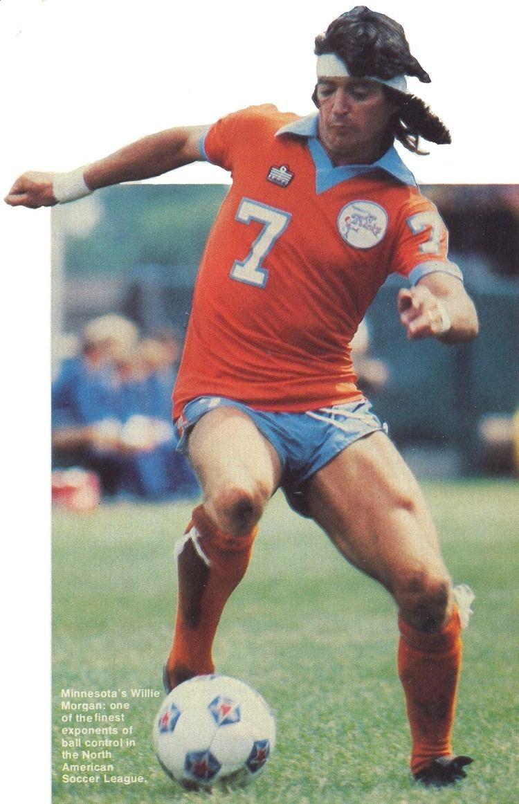Willie Morgan NASL Soccer North American Soccer League PlayersWillie Morgan