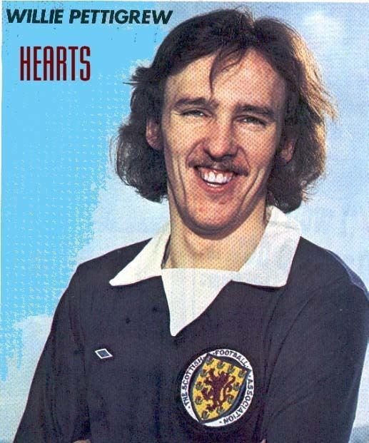 Willie Pettigrew Willie Pettigrew Hearts Career from 19 Sep 1981 to 07 Sep 1983