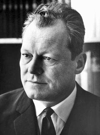 Willy Brandt Willy Brandt German statesman Britannicacom
