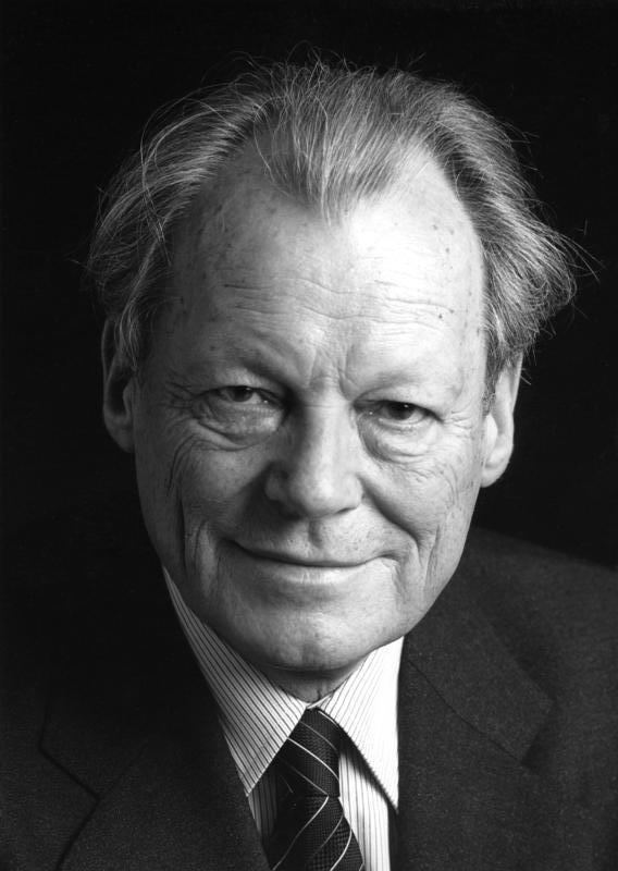 Willy Brandt Willy Brandt Wikipedia the free encyclopedia