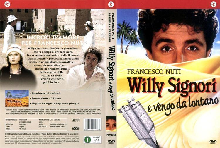 Willy Signori e vengo da lontano Copertina dvd Willy signori e vengo da lontano cover dvd Willy