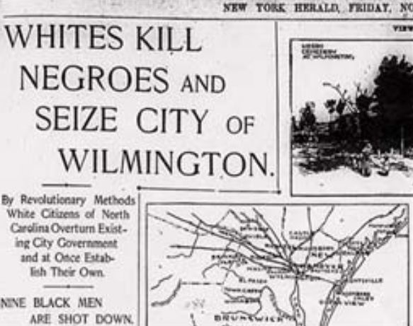 Wilmington insurrection of 1898 Race Riots Black people need to know about Sports Hip Hop amp Piff