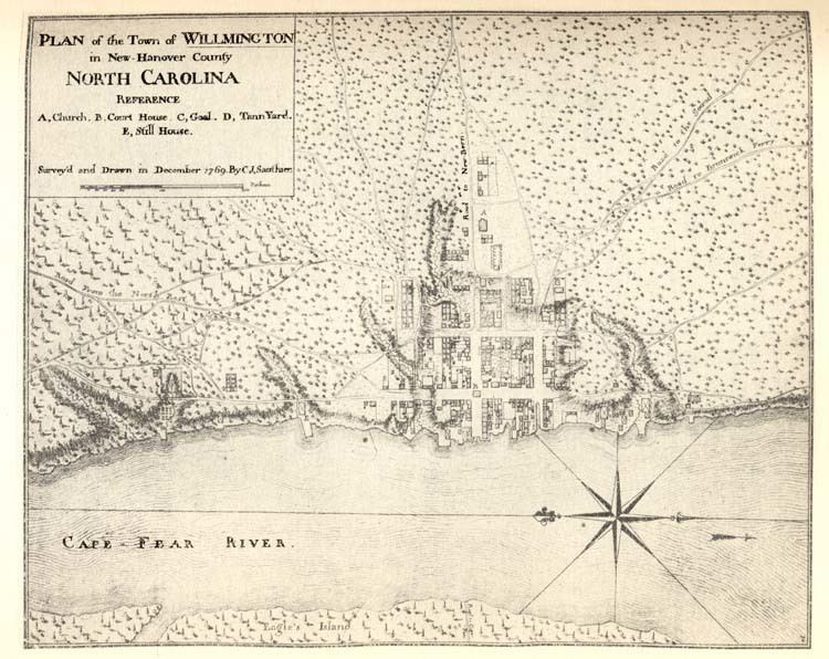 Wilmington, North Carolina in the past, History of Wilmington, North Carolina