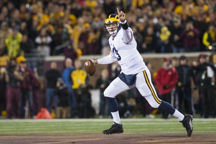 Wilton Speight Wilton Speight gets to play hero The Michigan Daily