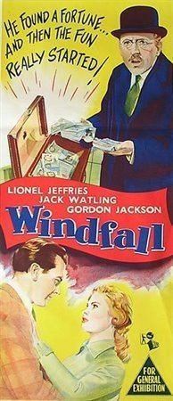 Windfall (1955 film) movie poster