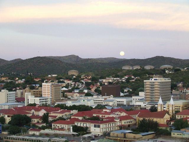 Windhoek in the past, History of Windhoek