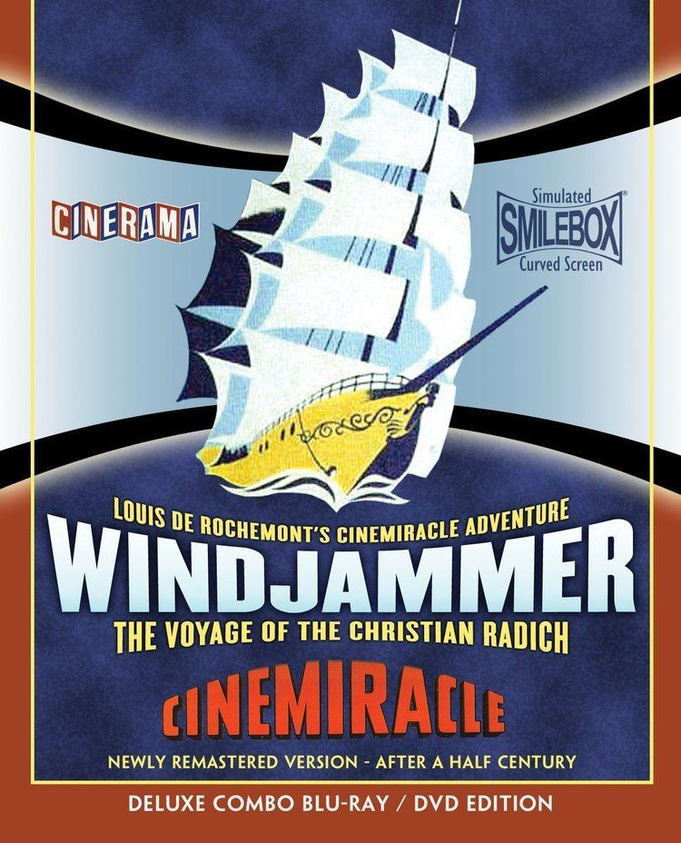 Windjammer The Voyage of the Christian Radich Bluray