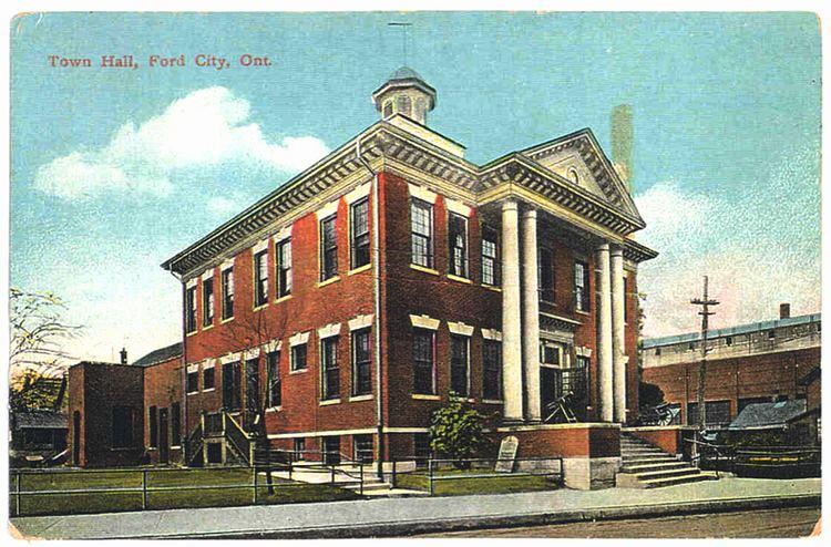 Windsor, Ontario in the past, History of Windsor, Ontario