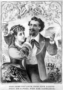 Wine, women and song httpsuploadwikimediaorgwikipediacommonsthu