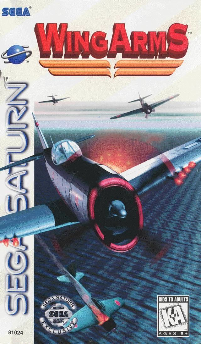 Wing Arms Wing Arms USA ROM Sega Saturn LoveROMscom