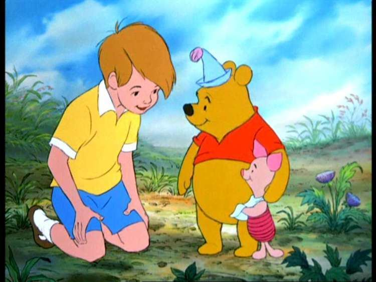 Winnie the Pooh and the Blustery Day movie scenes Winnie the Pooh and Tigger Too