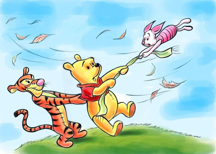 Winnie the Pooh and the Blustery Day Winnie the Pooh and the Blustery Day by zdrer456 on DeviantArt