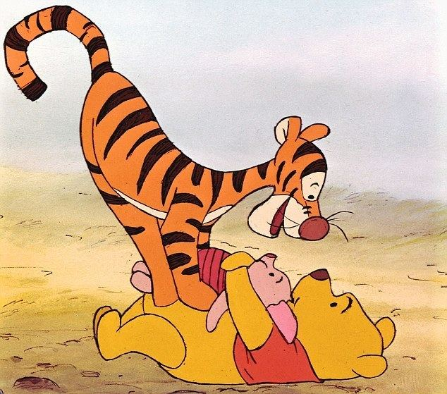Winnie the Pooh and Tigger Too movie scenes Disney acquired the rights for a Winnie the Pooh film pictured here with Tigger and