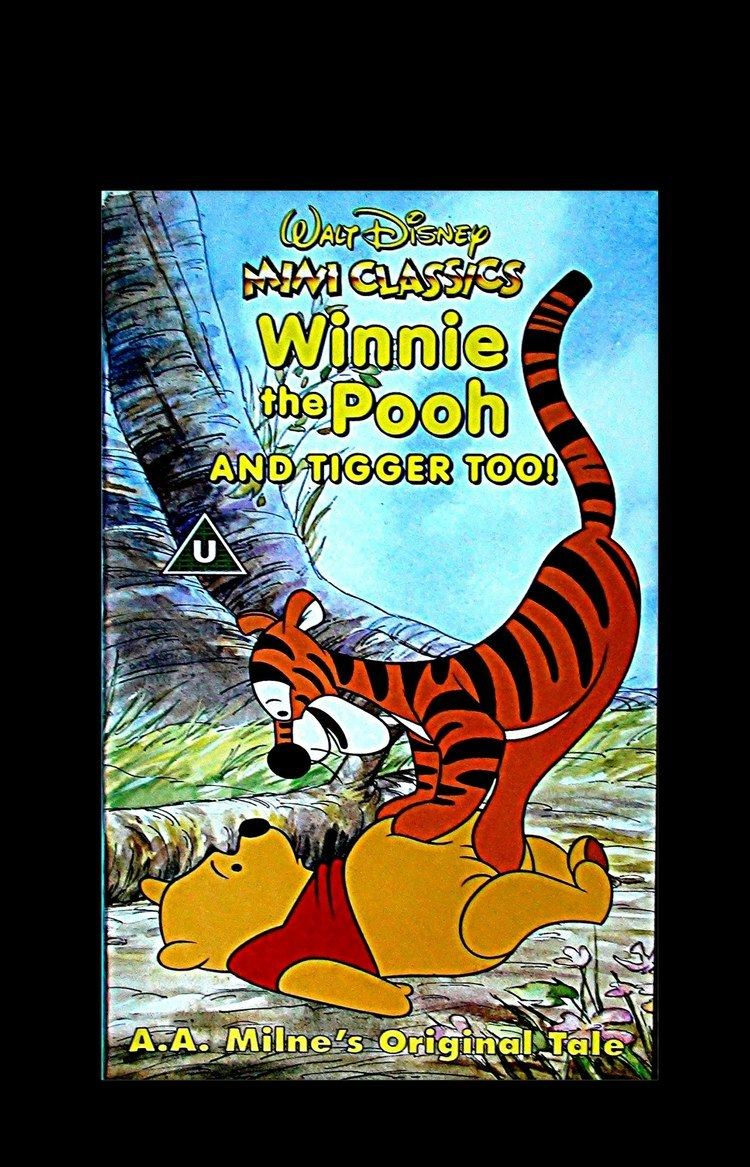 Winnie the Pooh and Tigger Too Digitized opening to Winnie the Pooh and Tigger Too UK VHS YouTube