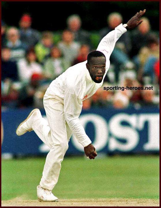 Winston BENJAMIN International Test cricket Career for England