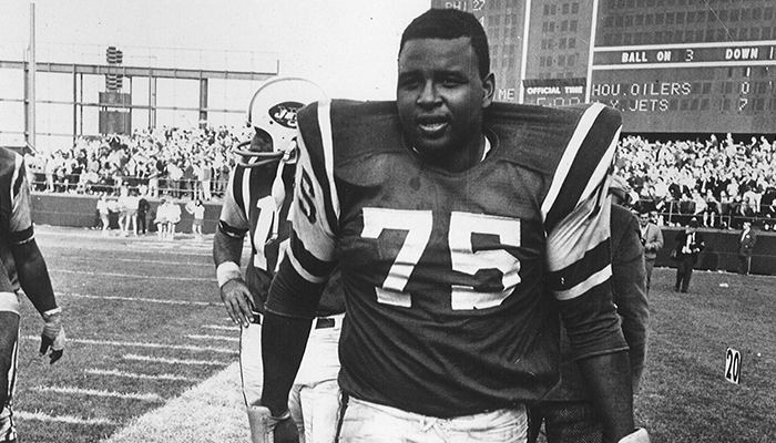 Winston Hill Winston Hill Jets Decorated Tackle Dies at 74