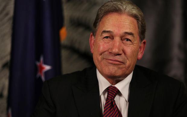 Winston Peters Winston Peters NZ First leader Radio New Zealand News