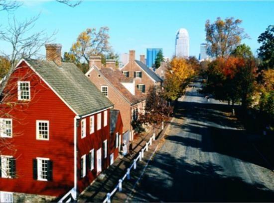Winston Salem, North Carolina in the past, History of Winston Salem, North Carolina