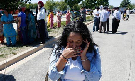 Wisconsin Sikh temple shooting Wisconsin Sikh temple shooting the aftermath World news
