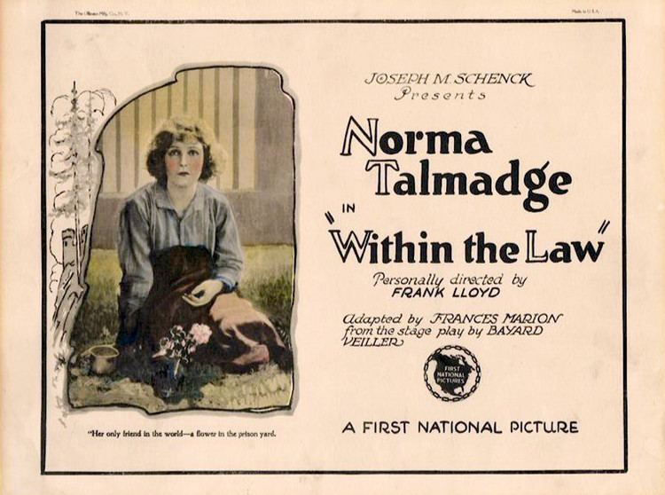 Within the Law 1923 film Wikipedia