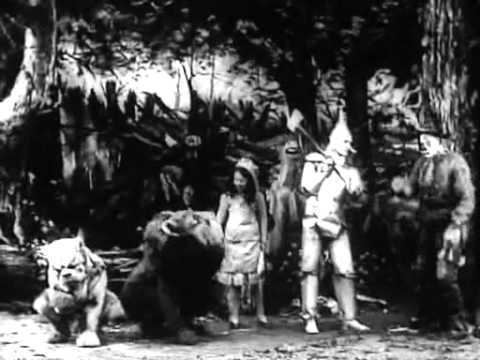 Wizard of Oz (1925 film) movie scenes This is the original Wizard of Oz Silent Movie from 1910