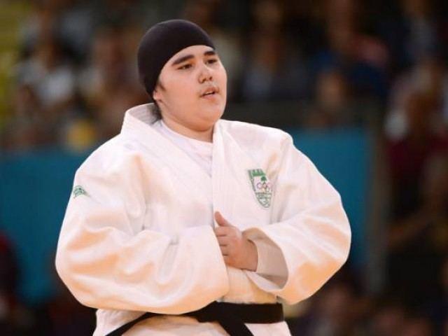 Wojdan Shaherkani Saudi woman39s debut over in 82 seconds The Express Tribune