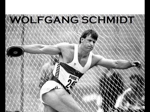 Wolfgang Schmidt Discus Wolfgang Schmidt PB 7116 metres YouTube