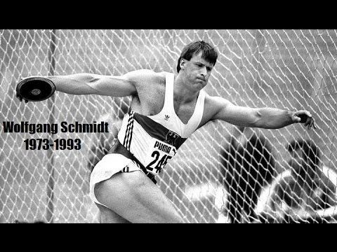 Wolfgang Schmidt Wolfgang Schimdt The Master of Discus part 1 YouTube