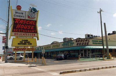 Wolfie Cohen's Rascal House Wolfie Cohens Rascal House deli served it up right for 50 years