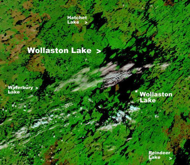 Wollaston Lake, Saskatchewan