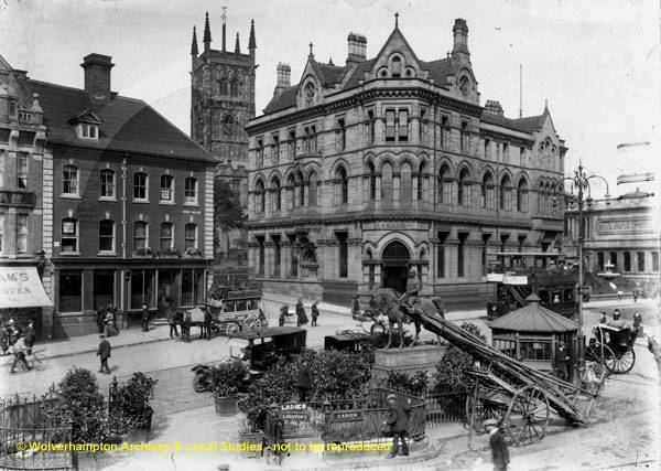 Wolverhampton in the past, History of Wolverhampton