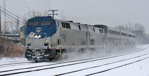 Wolverine (train) Winter weather affected some passenger trains Michigan Association