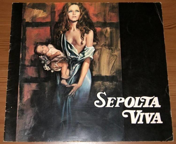 Woman Buried Alive brochure film SEPOLTA VIVA Agostina Belli Dominique Darel Aldo Lado