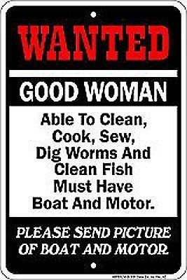 Sign Good Woman Wanted Sign SPSSU14