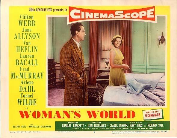 Woman's World (1954 film) Womans World 1954 Jean Negulesco Van Heflin Lauren Bacall