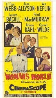 Woman's World (1954 film) Womans World 1954 film Wikipedia