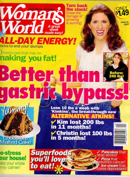 Woman's World Kimkins Weight Loss Diet and Womens World Apology