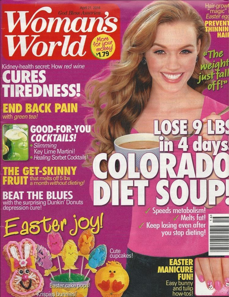 Woman's World Womans World Magazine GoodForYou Cocktails This Girl Walks