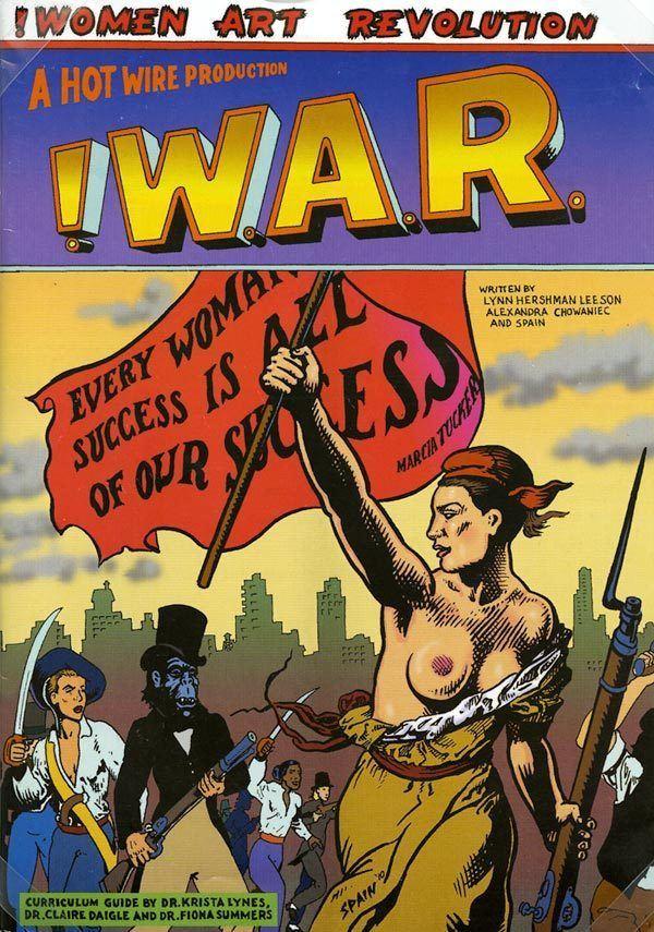 Women Art Revolution comic book 2010 Radcliffe Institute for