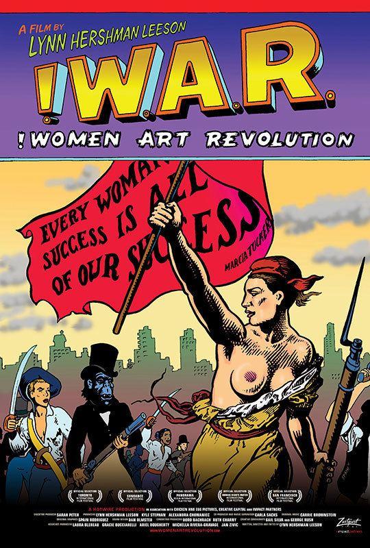 Women Art Revolution Zeitgeist Films