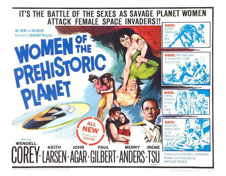 Poster for Women of the Prehistoric Planet 1966 USA Wrong Side